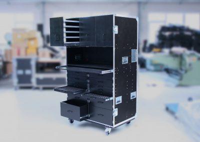 Case für Racing Team-Kleinteile Elektronik