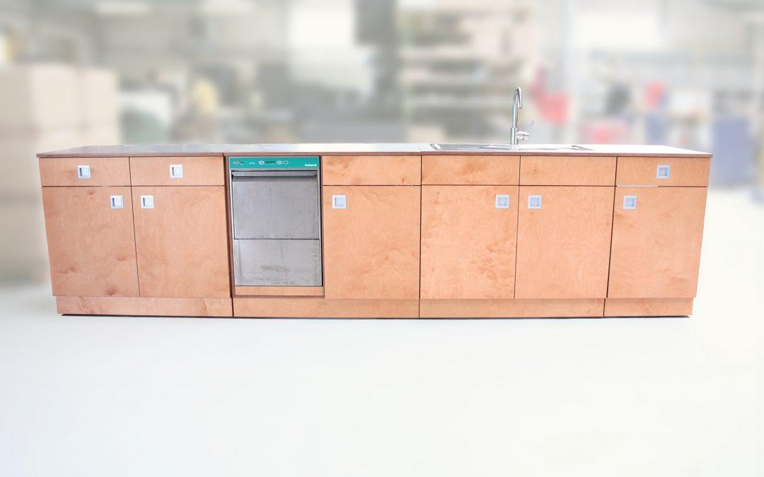 Eine mobile Küche