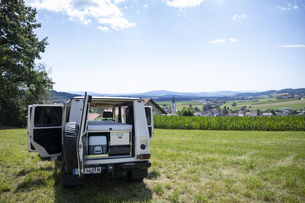 mobile Campingbox