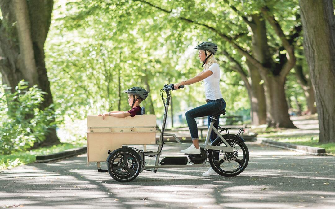 Mehr als ein Projekt – ML-Case baut Fahrradaufbauten für Johansson Bikes