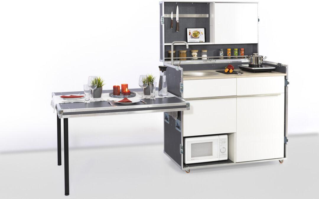 Die Küche im Case.